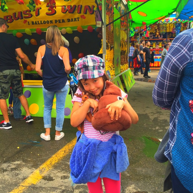 Abby and poo emoji prize