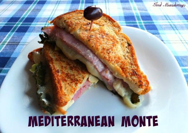 Mediterranean Monte Sandwich