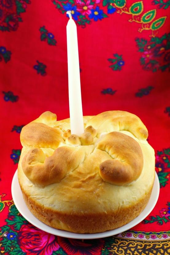 Ukrainian Easter bread Paska